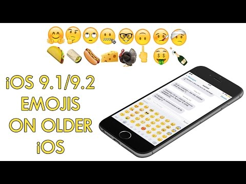 How to: get iOS 9.1/9.2 Emojis on your iOS 9 - 9.0.2 Jailbroken device!