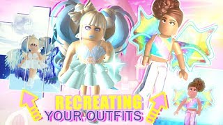 Recreating Fan Outfits In Royale High W Ashleyosity Roblox