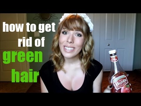 How to Get Rid of Green Hair