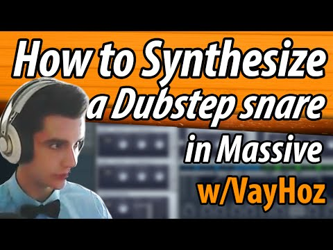 How to Synthesize a Dubstep Snare (NI Massive)
