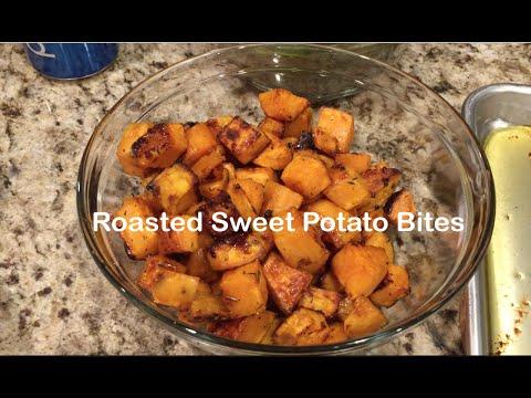 Roasted Sweet Potato Bites Recipe