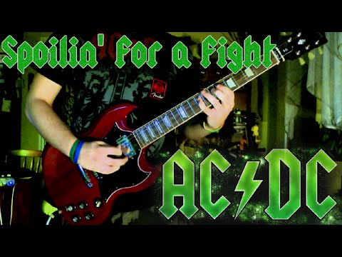 AC/DC - Spoilin' for a Fight (Guitar Cover) HD