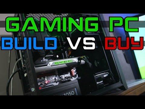 Build VS Buy Gaming PC