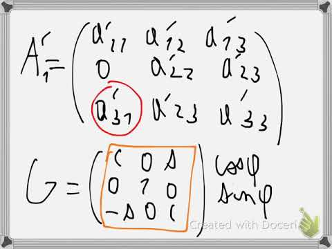 Givens rotation for QR factorization (2)