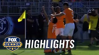 New York City FC vs. Houston Dynamo | 2017 MLS Highlights
