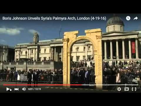 Demonic Beings On Video After Portal Was Opened In Trafalgar Square London!