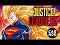 Justice League Dragon Ball Z Fans Animation Superheroes Parody