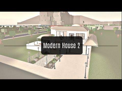 ROBLOX | Welcome to Bloxburg: Modern House 2 (70k)