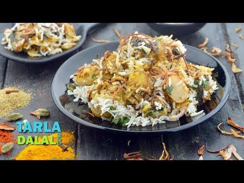 Aloo Biryani by Tarla Dalal