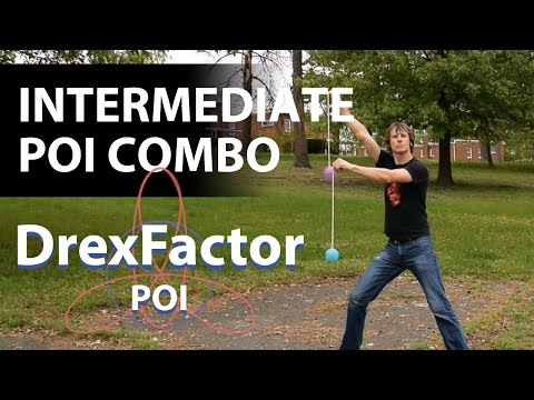 Intermediate Poi Dancing Combo Tutorial: April 2017