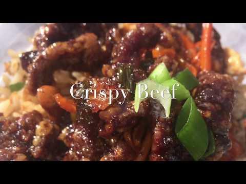 Chinese Chilli Crispy Shredded Beef