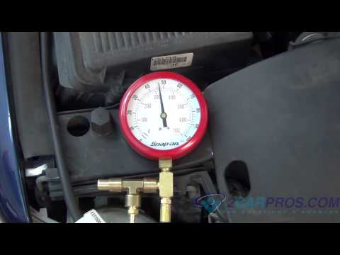 Fuel Pump Pressure and Regulator Test