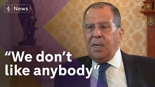 Exclusive: Sergey Lavrov, Russia