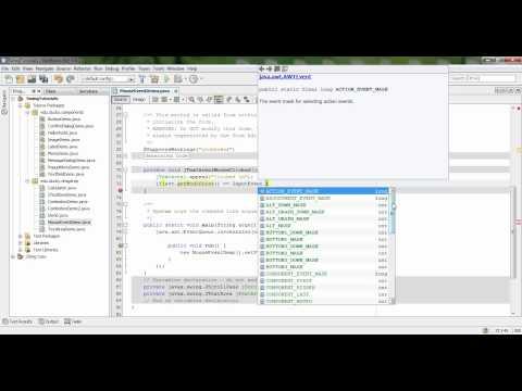 Bài 28 Java Swing: Mouse Event 1