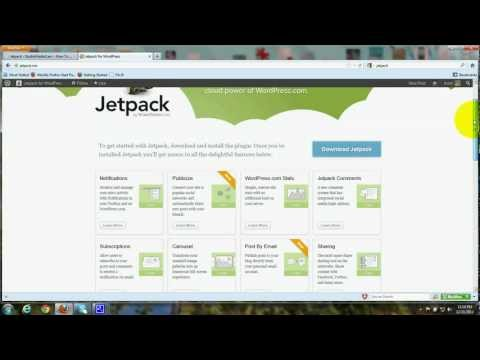 Wordpress Jetpack,  Install Plugin, Features, How to, Tutorial