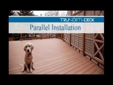 Composite Deck Building   Parallel Installation