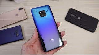 Huawei Mate 20 Pro UNBOXING!