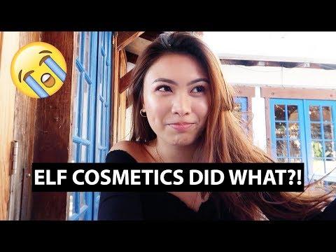 ELF COSMETICS DID WHAT?! | VLOG