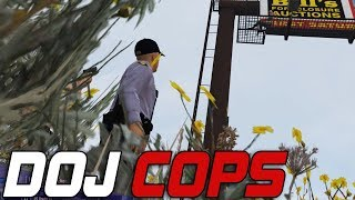 Dept  of Justice Cops Live! - Intense Hollywood Shootout