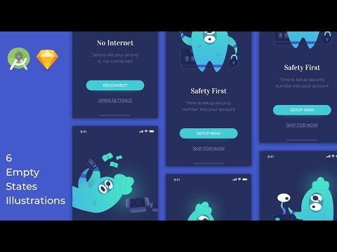 UX Empty States Android Studio Tutorial