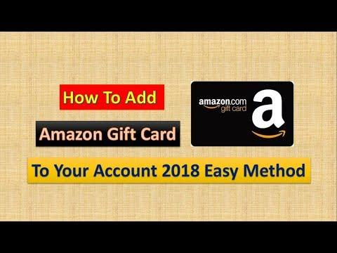 How To Add Amazon Gift Card To Your Amazon Account | Easy Method 2018 | Masti Manoranjan |