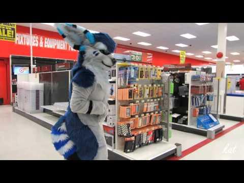 Fursuiting at a mall!