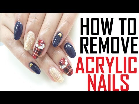 15 FAST Acrylic Nails Removal REMEDIES | How To Remove Acrylic Nails At Home Naturally