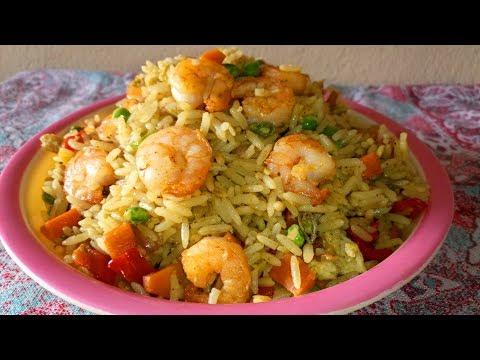 Shrimp Fried Rice Recipe: How to Make Shrimp Fried Rice Chinese Style