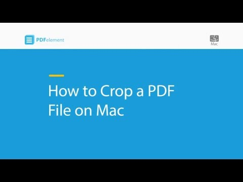 How to Crop a PDF File on Mac