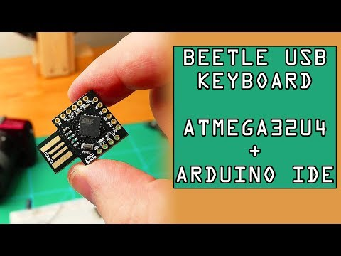 How To Make DIY Keyboard With ATMEGA32U4 Dev Board |From ICStation.com
