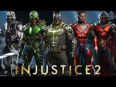 Injustice 2 - BRAND NEW EPIC GEAR SHOWCASE!