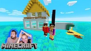 Haus Auf Dem Wasser Videos Ytubetv - Minecraft haus aus wasser bauen