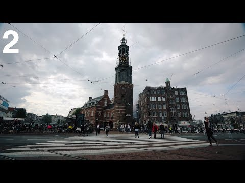 Julian in Amsterdam | Up the REALLY tall tower! (Oh my god - so high!)