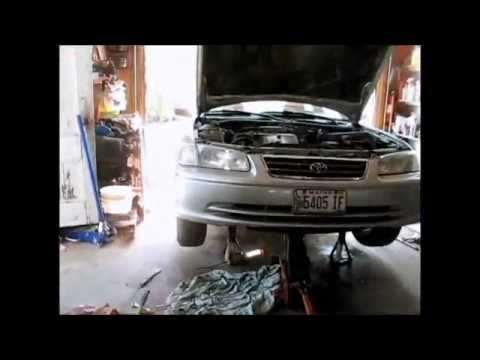 2001 Camry oil leak fix