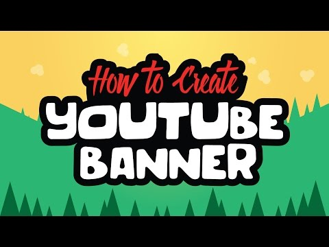 How to Make YOUTUBE Channel Banner in Adobe Illustrator CC