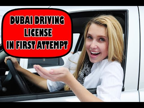 How to Get UAE/GULF (DUBAI/SHARJAH) Driving License in First Try/Attempt. 2017 Updated Latest Rules.