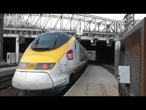 Trains at Paris Gare Du Nord