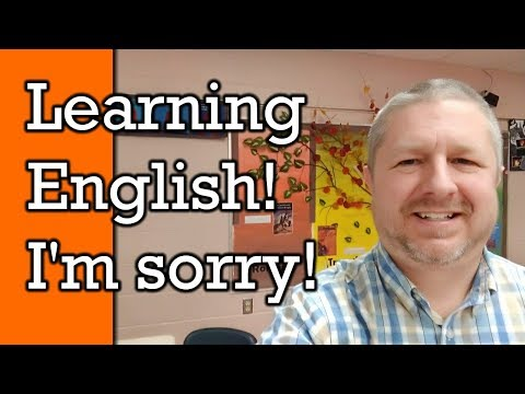 How to Say Sorry in English and Learn to Apologize in English | Video with Subtitles