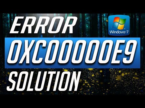 How to Fix Error Code 0xc00000e9 in Windows 7 - BEST FIX! 2019