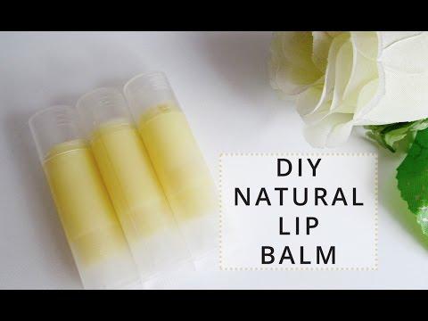 DIY Natural Lip Balm | Love, Telina