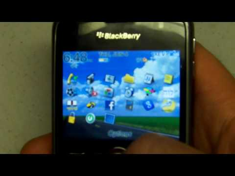 BLACKBERRY CURVE 8330 HOW TO FIND YOUR PIN ...
