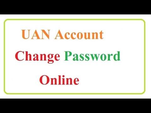 How To Online UAN Account Change Password HD 720P,1080P हिंदी
