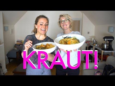 Get Sauerkraut In Your Life - How to make Sauerkraut