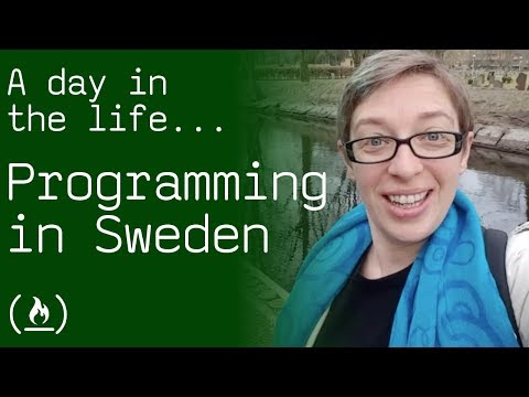 Coding for a Swedish Startup - a day in the life of Amber Wilkie