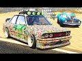 GTA V - Doomsday Heist Sentinel Sticker Bombs (GTA 5 HEIST DLC BMW E30 M3)