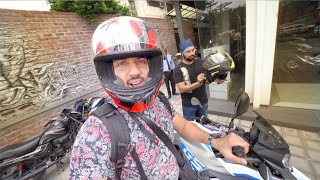 ALMOST GOT FINED BY TRAFFIC POLICE IN DELHI