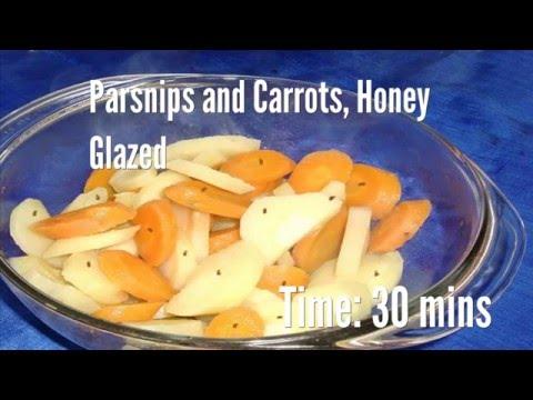 Parsnips and Carrots, Honey Glazed Recipe
