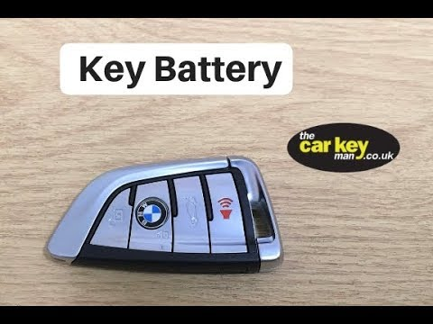 BMW Key Battery X5 2016 HOW TO change