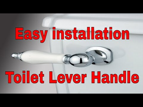 Plumbing Basics 101 How To Install a Toilet Tank Lever Handle