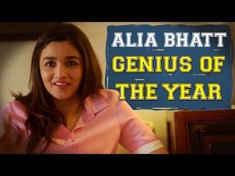 AIB : Alia Bhatt - Genius of the Year